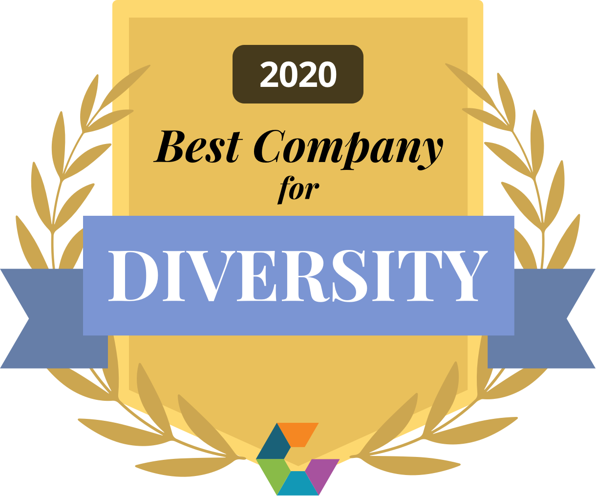 Comparably Best Companies for Diversity 2020