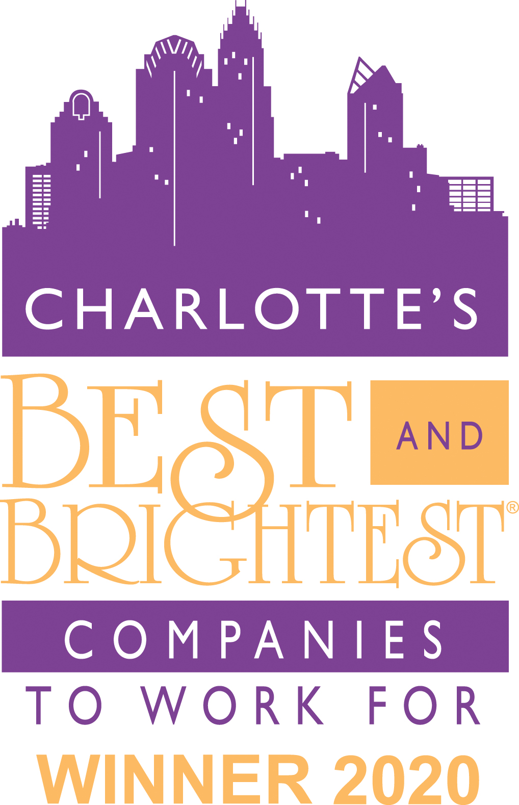 Charlotte Best & Brightest Company to Work for 2020​