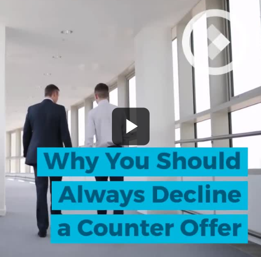 Why you should always decline a counter offer