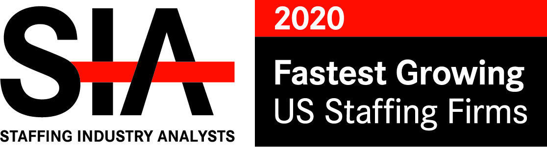 SIA Fastest Growing US Staffing Firms 2020