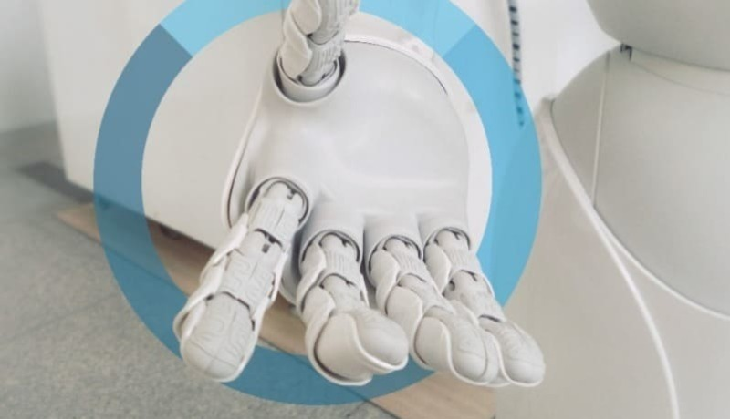 AI Recruitment Robotic Hand